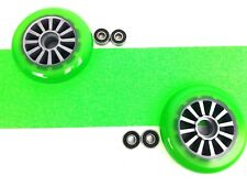 Yak Scooter Green Pack  Grip Tape, Wheels & Bearings Free Scooterz Video