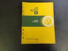 John Deere 7000 Folding Max-Emerge Drawn Planter Parts Catalog Pc-1694 1984