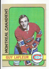 Guy LaFleur 1972-73 Topps NFL Hockey Trading Card # 79