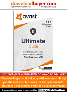 Avast Ultimate Suite 2020 - 10 Devices - 1 Year [Download]