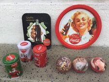 Collezione Coca Cola In Metallo 8 Pz Coke Cocacola Vintage