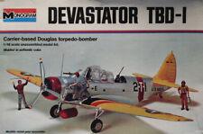 Monogram 1:48 Devastator TBD-1 Carrier based Douglas Torpedo Bomber Kit #7575U2