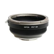 Kipon Adapter for Pentax 67 P67 Lens to Sigma SA Mount Camera