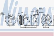 Kompressor Klimaanlage - Nissens 89284