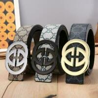 NEW Fashion Buckle Men's Classic Leather Vintage Belt multicolor