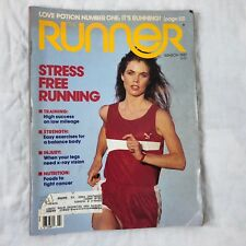 The Runner Magazine 1987 March Mark Nenow Vtg Running Nike Ads