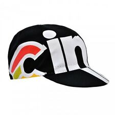 Cinelli Cap Collection:  Nemo Tig Cycling Cap in Black - Made in Italy
