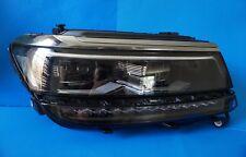 2018 VW TIGUAN 0 MILES FULL LED HEADLIGHTS RIGHT OEM 8V0907399B