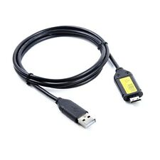 USB DC Battery Charger+Data SYNC Cable Cord For Samsung HZ30w HZ35w ST500 Camera