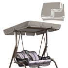 """Swing Top Cover Replacement Canopy Porch Park Patio Outdoor 66x45 75x52"""" 77""""x43"""""""