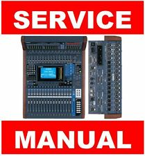 Yamaha DM1000 MB1000 SP1000 Mixer Service Manual and Repair Guide