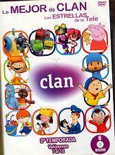 PACK LO MEJOR DE CLAN 2 TEMPORADA 6 DVDS DONCHOLLO