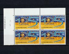 (SBAZ 162) Luxembourg 1999 MNH BLOCK OF 4  UPU 125th Anniversary