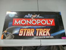 MONOPOLY STAR TREK CONTINUUM EDITION BOARD GAME SEALED BRAND NEW
