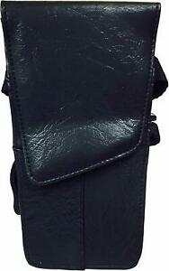 Professional Hairdressing Black Scissor & Comb Tool Belt Pouch - Tapered Design