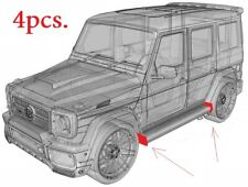 End caps side steps running boards for Mercedes Benz W463 G class