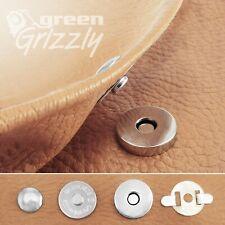 Magnetic snaps single cap rivet clasps fastening purses handbags buttons 18mm