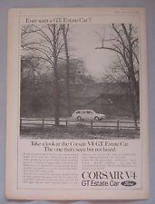 1966 Ford Corsair V4 GT estate Original advert No.1