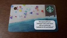 Starbucks Malaysia Beach Mini Card