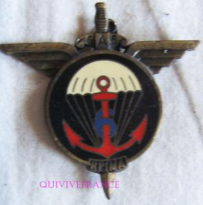 IN17260 - Insigne 6° Régt Para. Infanterie de Marine, plat, sans devise, 51 mm