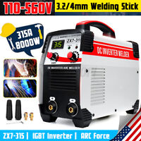 AC 110-560V 8000W Digital Welder ARC Inverter IGBT MMA Electric Welding Machine