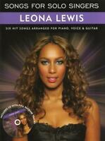 Songs For Solo Singers : Leona Lewis  Piano, Vocal and Guitar Leona Lewis Book w