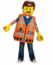 The Lego Movie 2 EMMET TODDLER Costume ONE SIZE FITS MOST
