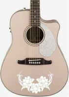 Floral Tribal Guitar Body Vinyl Decal For your guitars, Ukuleles