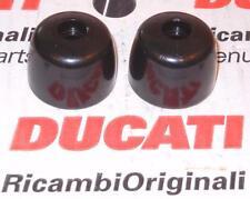 1991-2000 Ducati ST2 ST4 750SS 900SS Monster black PAIR bar end handlebar weight
