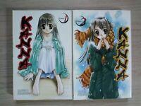 Kanna 1-2, Lot of 2 Seinen Manga, English, 16+, Takeru Kirishima