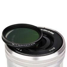JJC 40.5mm S+Ultra Slim Multi-Coated Circular Polarizing CPL Filter fr DSLR Lens