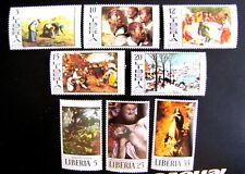 LIBERIA 502-09 MNH OG (SEE ITEM DESCRIPTION)