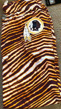 Zubaz Nfl Men's Washington Redskins Logo Zebra Stripe pants