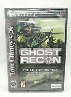 Tom Clancy's Ghost Recon PlayStation 2 PS2 Game Complete *CLEAN VG