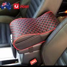 Center Console Armrest Pillow PU Leather Memory Sponge Armrest Seat Box Cover