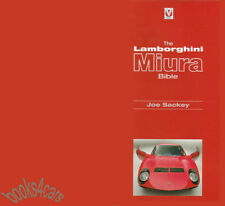 LAMBORGHINI MIURA BIBLE BOOK SACKEY