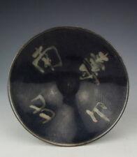 Antique JiZhou Ware Porcelain Bowl with Shou-Bi-Nan-Shan Pattern