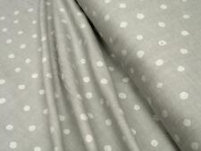 Cotton fabric DOUBLE GAUZE • Kokka Nani Iro Pocho • silver 0.54yd (0.5m)