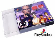 25 X Playstation 1 Double Disc Boxprotectors / Schutzhüllen ☆ ☆ Super strong !