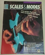 Scales & Modes Licks Lessons Guitar Tab Instruction Tablature New