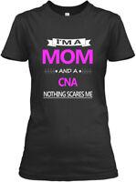 Great Mom And Cna Job - I'm A Vna Nothing Scares Me Gildan Women's Tee T-Shirt
