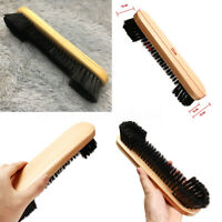 9'' Pool Snooker Billiard Table Brush Wooden Handle Cleaning Tool Home