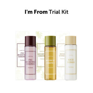 [I'm from] Trial Kit/ Rice Toner/ Mugwort Essence/ Fig Boosting Essence