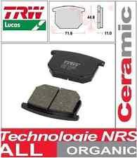 2 Plaquettes frein Avant TRW Lucas Organic MCB501 Suzuki GSX 1100 (GS110X) 80-81