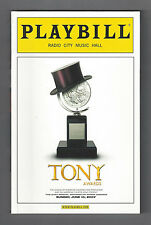 "61st Annual TONY AWARDS ""Spring Awakening"" John Gallagher, Jr. 2007 Playbill"