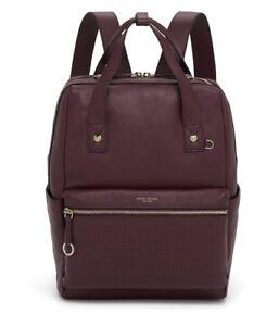 henri bendel Influencer Color Wine Backpack NEW!
