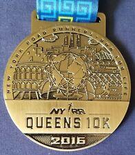 NYRR Queens 10K 2016 medal