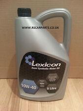 Lexicon 10w40 Semi Synthetic Engine Oil 5 Litres 1040S ACEA A3/B3 API SL CF