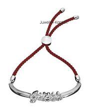 Guess Damen Schmuck Halb  Armband mit Steinen Rot UBB81133 NEU