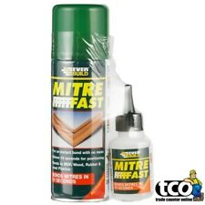MITRE FAST Superglue Bonding Kit Joint Super Glue 50g + Activator 200ml